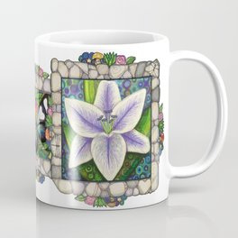 Stargazer Lily in the Lilac Verse Coffee Mug