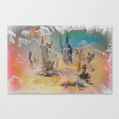 The Oz, By Sherri Of Palm Springs Canvas Print
