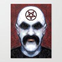 pentagram Canvas Prints featuring PENTAGRAM by Laertis Art