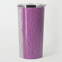 Pink To Gray Pattern Travel Mug