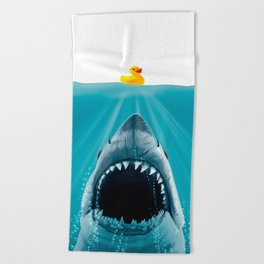 Save Ducky Beach Towel
