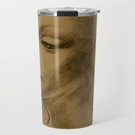 Da Vinci Inspired Drawing Travel Mug