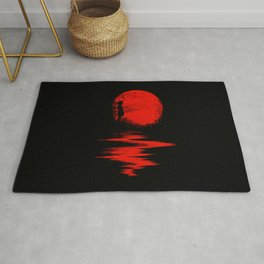 The Land of the Rising Sun Rug