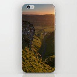 winnats pass sunrise iPhone Skin