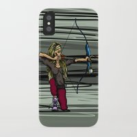 archer iPhone & iPod Cases featuring Archer by Natalie Easton