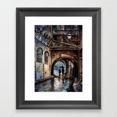 Alleywalkers Framed Art Print
