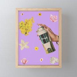 Spring Cleaning Framed Mini Art Print