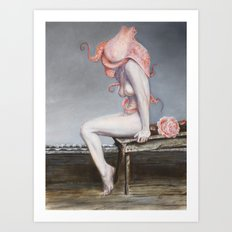 Encephalopoda Art Print