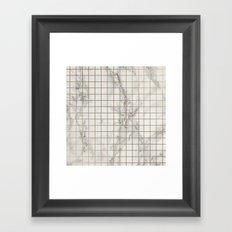 Marble #12 Framed Art Print