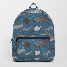 Sharks and Rays Backpack