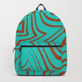 Zebra Grunge 9 Backpack