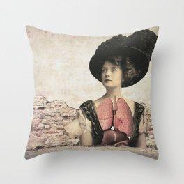 dermis_3 Throw Pillow