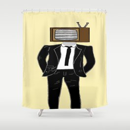 Bob is on the Fritz Again Shower Curtain