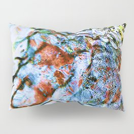 abstract stone and running water 1 Pillow Sham