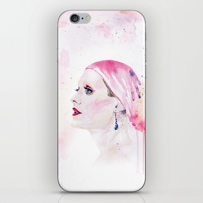 Rayon | Jared Leto in Dallas Buyers Club | Watercolor Portrait iPhone Skin