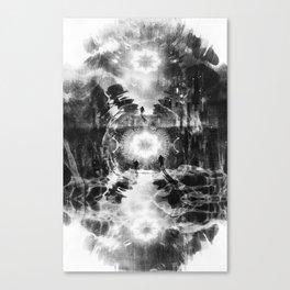 Portal 02 BN Canvas Print