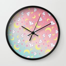 Moon Pattern Wall Clock