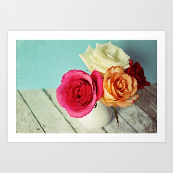 a gift of love Art Print