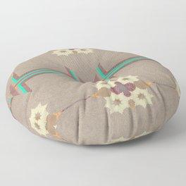 Pallid Minty Pattern 11 Floor Pillow