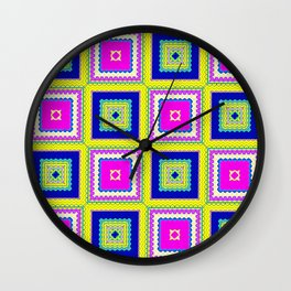 Square Framed Wall Clock