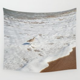 Bird in the Water Wall Tapestry