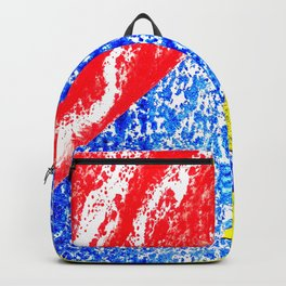 Handmade geometry Backpack