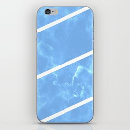 Blue Granite iPhone Skin