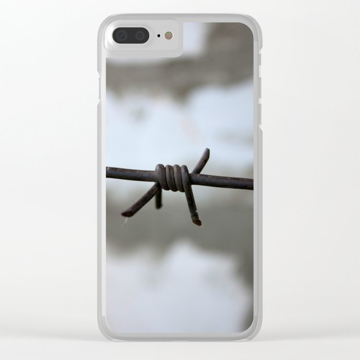 border Clear iPhone Case