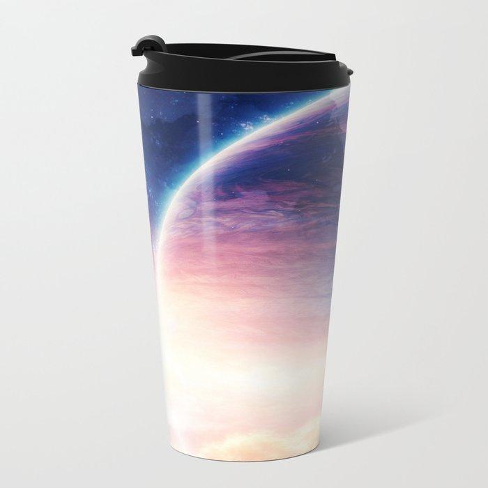 Jupiter rising Metal Travel Mug