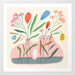 Flower Vase #3 Art Print