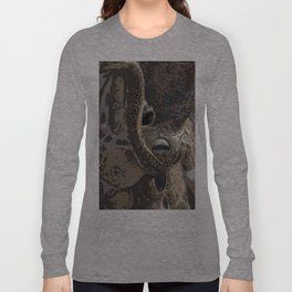 Curious Octopus Long Sleeve T-shirt