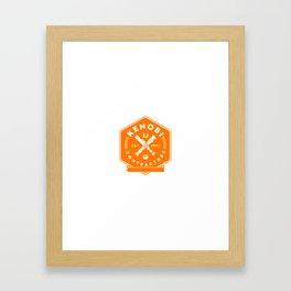 Kenobi Contractors Framed Art Print