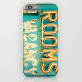 Rooms Neon Sign iPhone Case