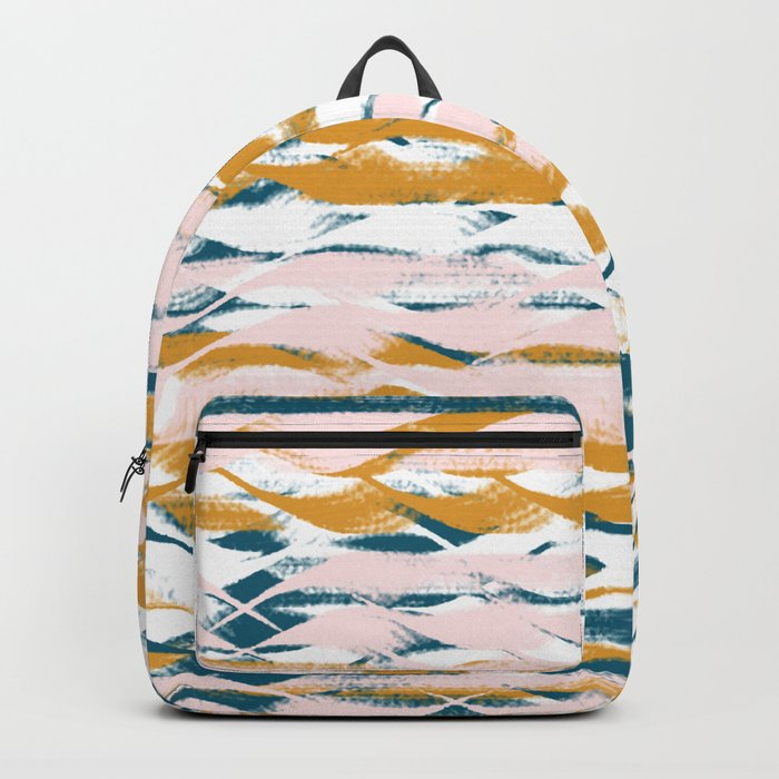 Wavy Stripes Backpack