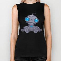 Sad Robot Biker Tank