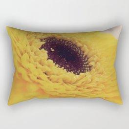 Yellow Germini close up 2 Rectangular Pillow