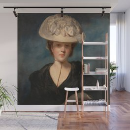 "Sir Joshua Reynolds ""Miss Mary Hickey"" Wall Mural"