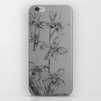 orchid iPhone & iPod Skins featuring ORCHID by Luke Kempers