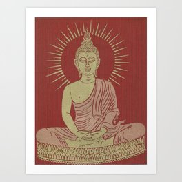 Power of Now collected from Thailand Art Print