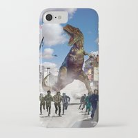 dinosaur iPhone & iPod Cases featuring Dinosaur by Beery Method