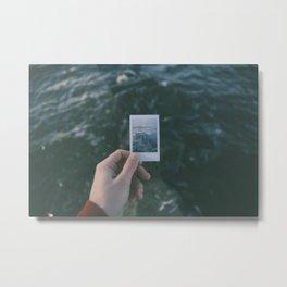 Nostalgie Un / Polaroid Metal Print