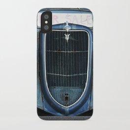 Antique Truck Show iPhone Case