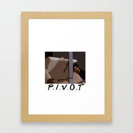 Pivot Framed Art Print