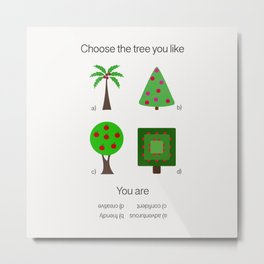 Gift for psychologist Metal Print