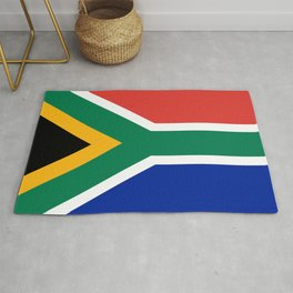 South African flag of South Africa Rug