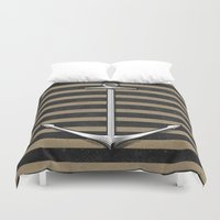 anchor Duvet Covers featuring Anchor by pakowacz