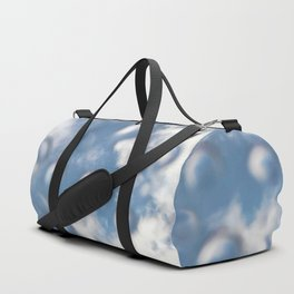 Sky Bubbles #abstract #art #society6 #decor Duffle Bag