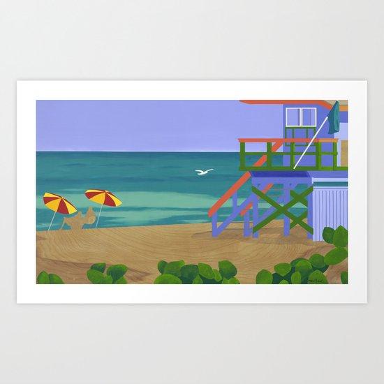 South Beach Art Print