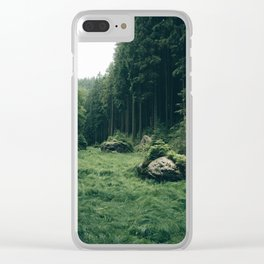 Forest Field - Landscape Photography Clear iPhone Case