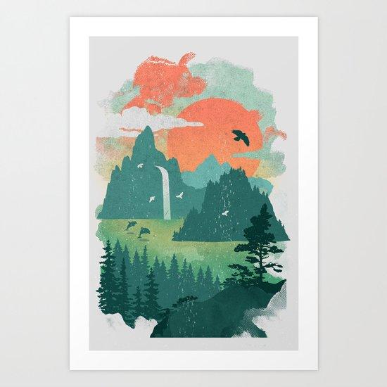 Lost Cove Art Print